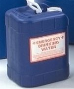 emergency water container