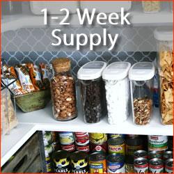 1-2 week supply