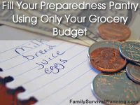 Fill Your Pantry Using Only Your Grocery Budget