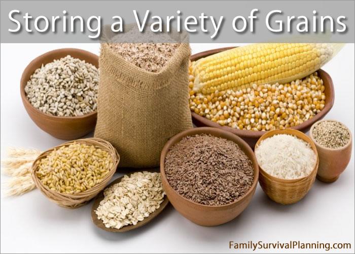 Storing Grains