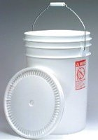 6-gallon bucket for bulk foods