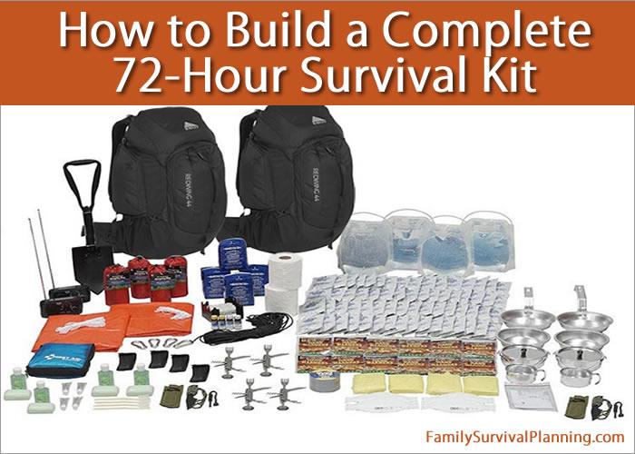 72-Hour Survival Kits