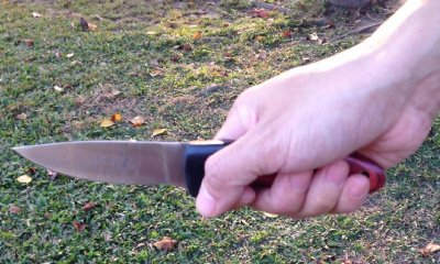 Forehand Knife Grip