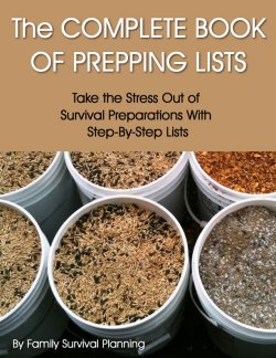 The Complete Book of Prepping Lists