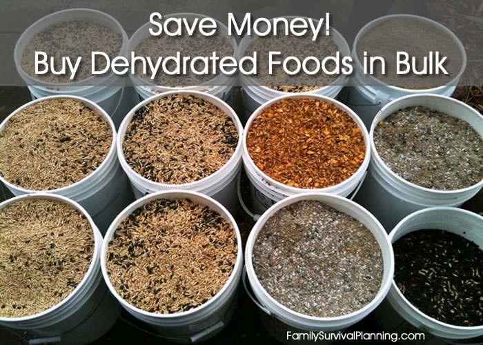 Dehydrated Food Bulk Food Storage