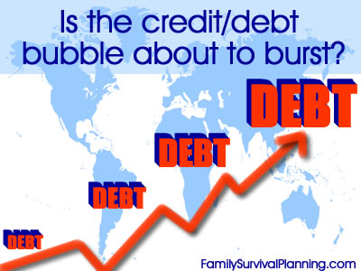 debt/credit bubble