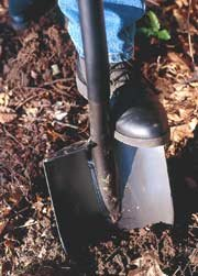 emergency sanitation shovel