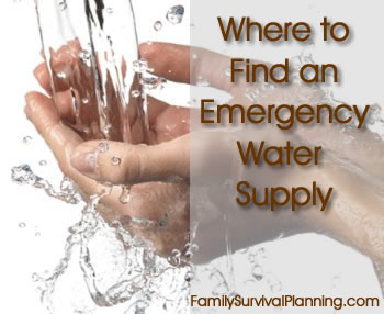 Emergency Water Supply