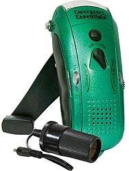 Wavelength emergency radio