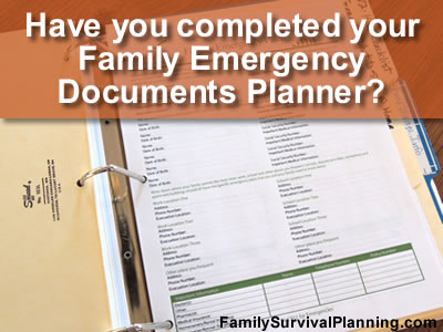 Family Emergency Planner