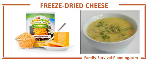 freeze-dried cheese recipe