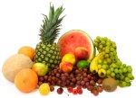 freezing food - fruit