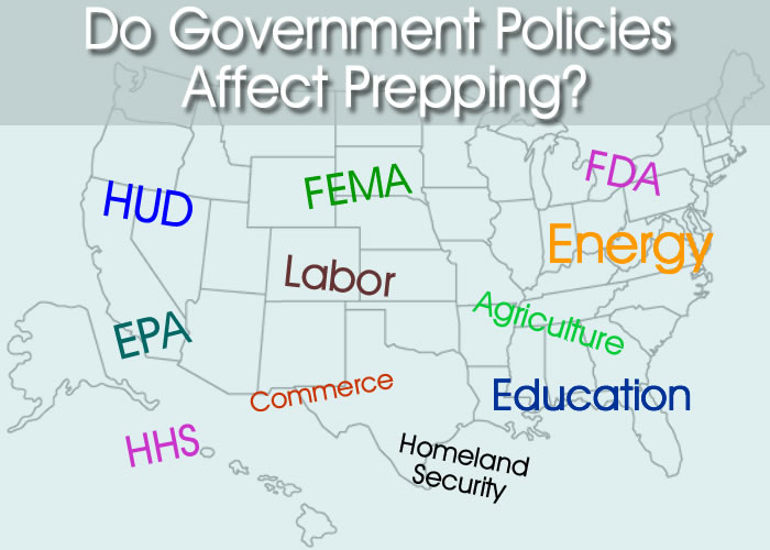 Do Government Policies Affect Prepping?