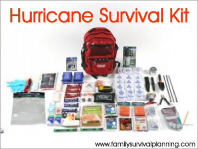 hurricane preparedness kit