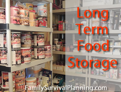 Long Term Food Storage Questions