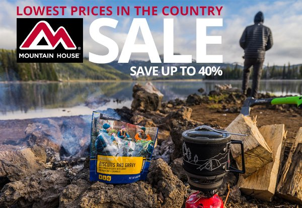 Mountain House Sale at The Ready Store
