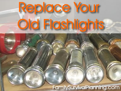 Replace Old Flashlights