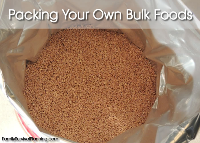 How to Pack Bulk Food
