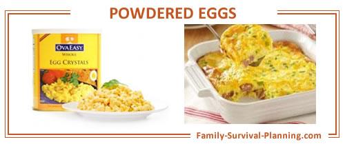 powdered eggs recipe