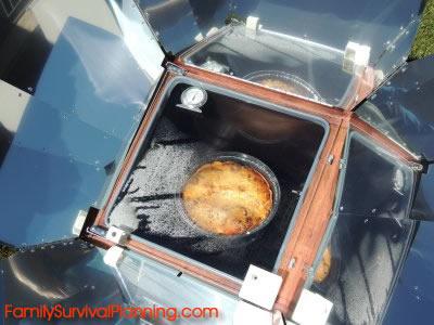 Sun Oven casserole