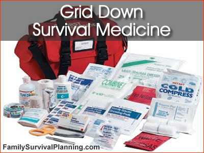 Survival Medicine for Grid Down Survival