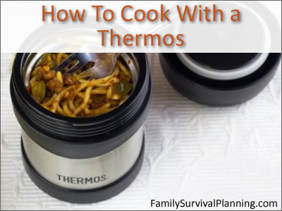 Thermos Cooking