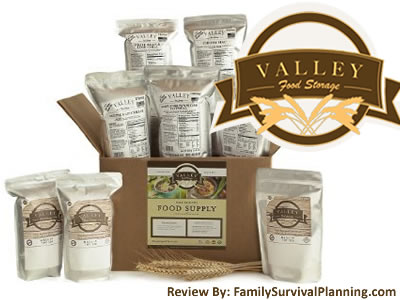 Review of Valley Food Storage