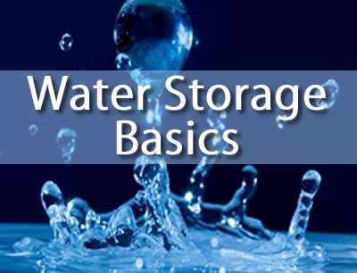 water storage basics