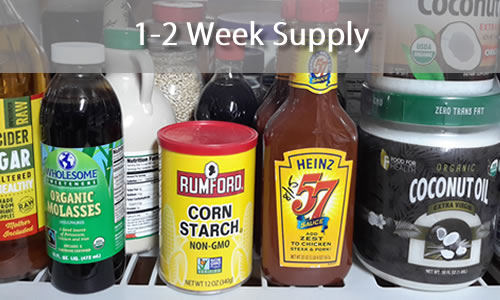 1-2 week supply