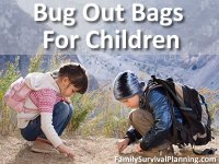 Bug Out Bag For Children