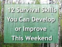 Survival Skills Weekend