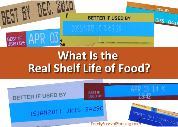What is the real shelf life of food?  sc 1 st  Family Survival Planning & Long Term Food Shelf Life