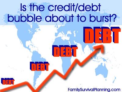 debt/credit bubble