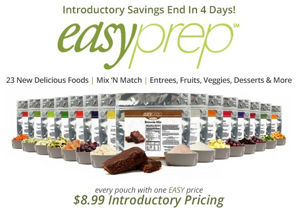 The Ready Store - EasyPrep Sale