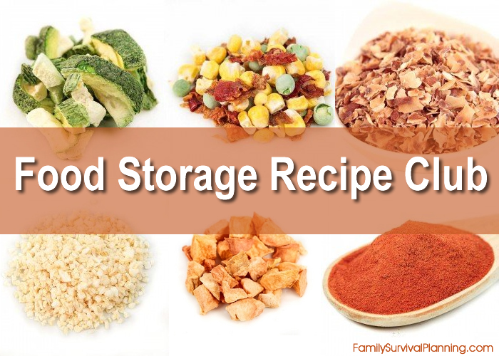 Food Storage Recipe Club