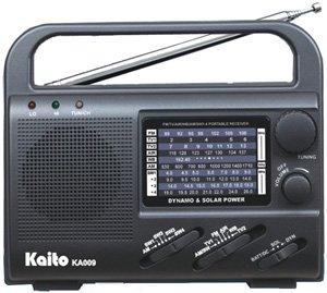Kaito solar powered radio