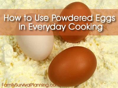 Powdered Eggs
