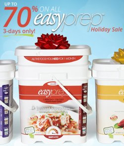 The Ready Store - EasyPrep Holiday Sale