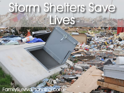 Storm Shelters Save Lives