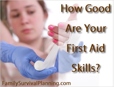 First Aid Skills in an Emergency