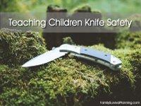 Teaching Children Knife Safety