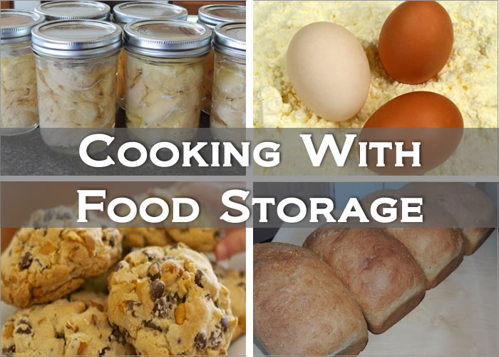 Cooking With Food Storage