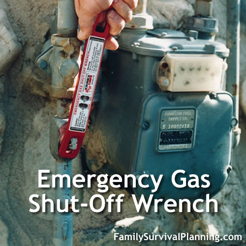 Emergency Gas Shut-Off Wrench