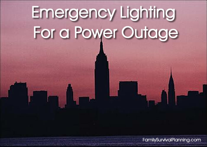 Emergency Lighting In a Power Outage