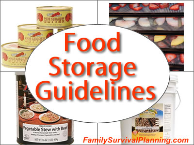 Food Storage Guidelines