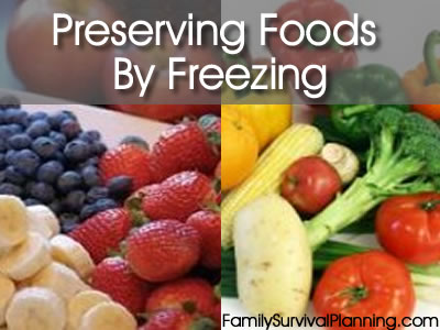 Preserve Taste and Nutrition by Freezing Foods