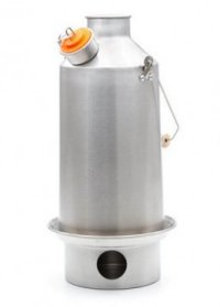 Kelly Kettle Large Stainless Steel Base Camp
