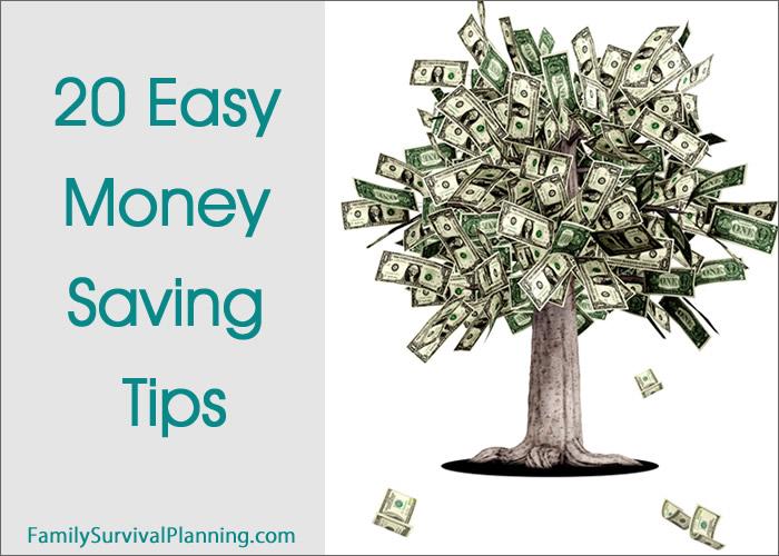 20 Easy Money-Saving Tips
