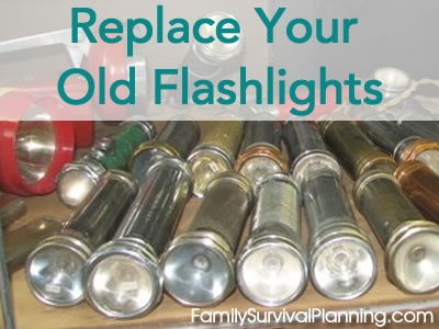 Replace Your Old Flashlights