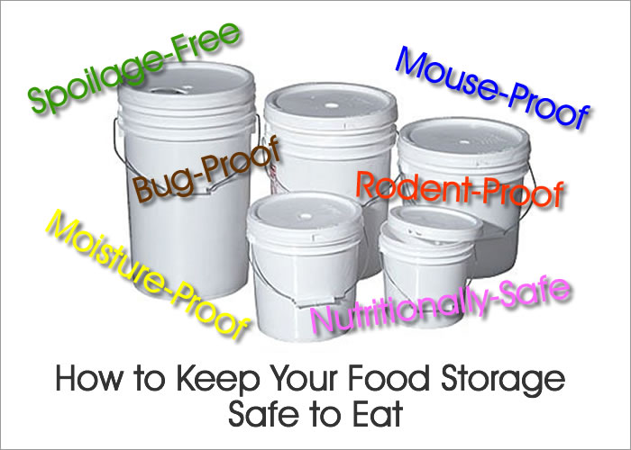 Safe Food Storage - Long Term